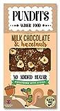 4 x Pundits - Milk Chocolate & Hazelnut Bar - with Natural...