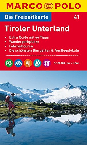 Preisvergleich Produktbild MARCO POLO Freizeitkarte Tiroler Unterland 1:120.000