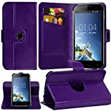 KARYLAX Etui Support 360 Universel L avec Attaches Violet pour Condor Allure M3