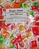 Wurfmaterial Karneval 150 Magic Chew Kaustreifen
