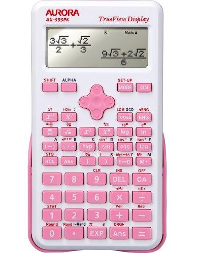 Aurora ax-595pk Wissenschaftlicher Taschenrechner-Pink