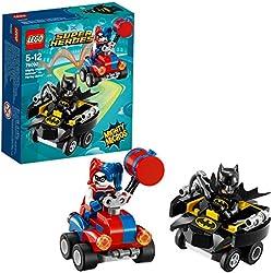 LEGO Super Heroes - Mighty Micros: Batman Contro Harley Quinn, 76092