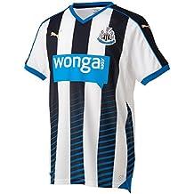 Puma Newcastle Home - Camiseta de equipación de fútbol para hombre, color Negro, talla S