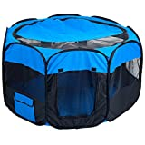 Best Pet Dog Crates - PETMAKER Pet Pop-Up Playpen Deluxe with Canvas Carrying Review
