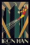 Marvel Deco Iron Man Maxi Poster, multicolore