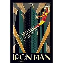 "Maxi-Póster de Marvel ""Deco Iron Man, multicolor"