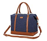 Best Overnight Bags For Women - BAOSHA HB-28 Canvas Women Travel Holdalls Ladies Carry-on Review