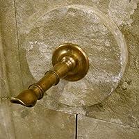 Antikas - Wasserspeier, stilvoller Messing Speier - Brunnenauslauf Bari