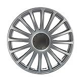 16 Zoll Radzierblenden GRAND PRIX (Silber) Matt. Radkappen passend für fast alle VW Volkswagen wie z.B. Passat!