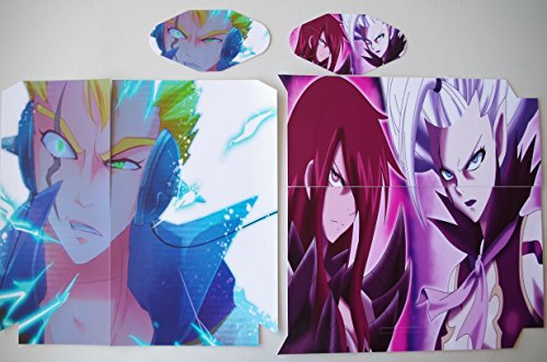 EBTY-Dreams Inc. - Sony Playstation 4 (PS4) - Fairy Tail Anime Laxus Dreyar Erza Scarlet Mirajane Strauss Vinyl Skin Sticker Decal Protector by EBTY-Dreams Inc.