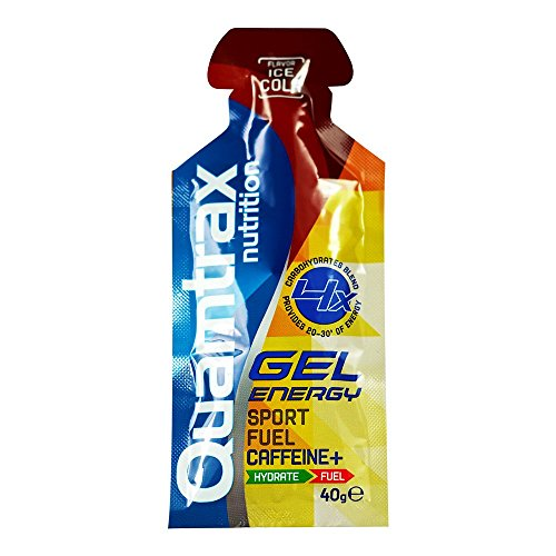 Quamtrax Nutrition Suplemento para Deportistas Energy Gel, Sabor de Co
