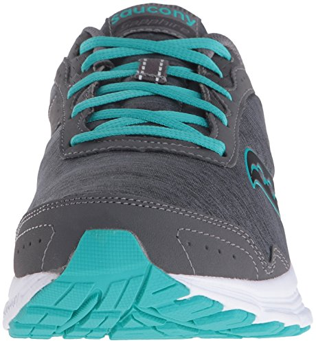 Saucony Chaussures SAPHIR Course à Pied pour Fille Grey/Heather/Teal