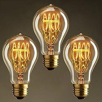 luminea gl hbirne draht sichtbar vintage schmucklampe. Black Bedroom Furniture Sets. Home Design Ideas