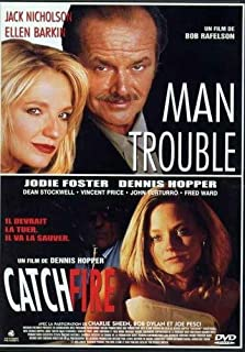 Man Trouble/Catchfire - French region 2 dvd English Language by jack nicholson