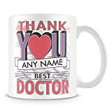 Best Gifts For A Doctors - Doctor Thank You Mug - Personalised Cup Gift Review