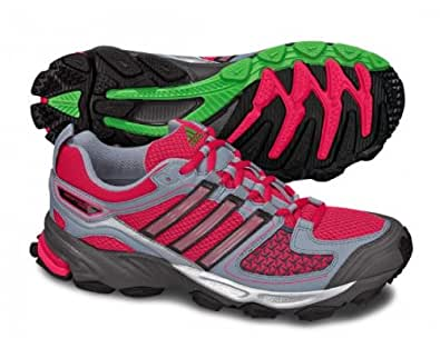 ADIDAS Response Trail 17 Ladies Running Shoes, Pink/Grey