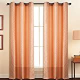 Deco Essential Curtain Tonal Stripe Peac...
