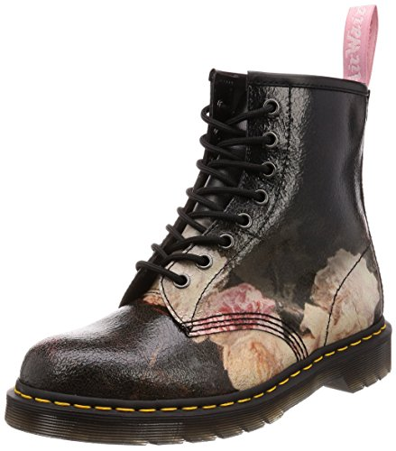 Dr. Martens New Order Nero Cristal Scamosciato 1460 Power Corruption Stivali-UK 6