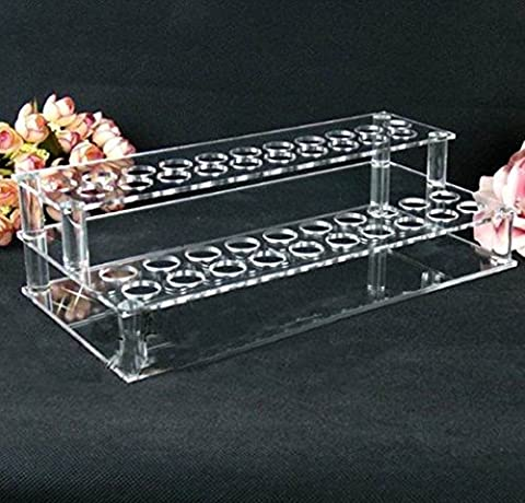 Lenhar Clear Acrylic Lipsticks/Cosmetic Organizer/Display/Showcase/Holder (41