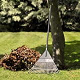 Balai à gazon en plastique - Balai à feuilles