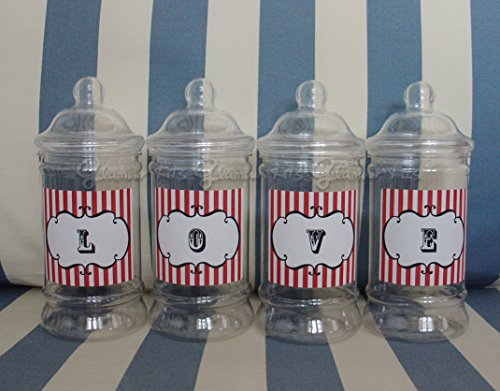 set-of-4-empty-personalised-retro-love-sweets-victorian-jars-any-colour