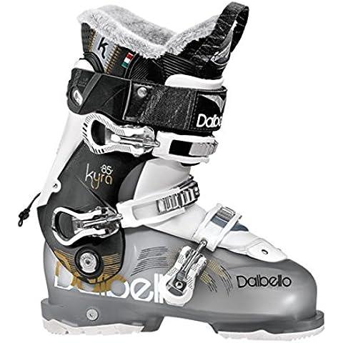 Dalbello Kyra 85–Botas de esquí para mujer de la mujer/negro/negro transparente/blanco/Mondo punto