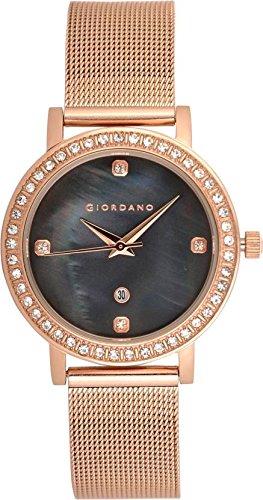 Giordano Analog Black Dial Women's Watch- 2861-33