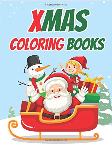f13df08169 Xmas Coloring Books  70+ Xmas Coloring Books Kids and Toddlers with  Reindeer