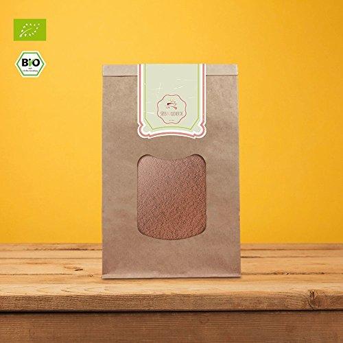 süssundclever.de® Bio Carobpulver | 1 kg | Premium Qualität | 100% reines Naturprodukt | plastikfrei und ökologisch-nachhaltig abgepackt -