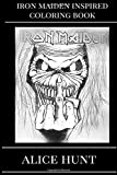 Iron Maiden Inspired Coloring Book: Eddie the...