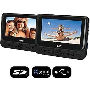 D-JIX PVS 902-59LDP Double lecteur DVD portable 9'