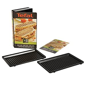 Tefal xa8003 snack collection platte grill panini nummer 3 - Gaufrier tefal snack collection ...