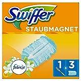 Swiffer Staubmagnet Set (1Griff und 3 Staubmagnet Tücher, mit Febreze Duft) 1er Pack
