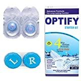 #3: Optify Blue Monthly Color Contact Lens (Zero Power, Blue)