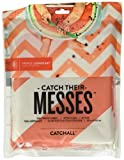Prince Lionheart Multi-Use CatchALL Floor Mat (42 x 42-Inch, Chevron Coral)