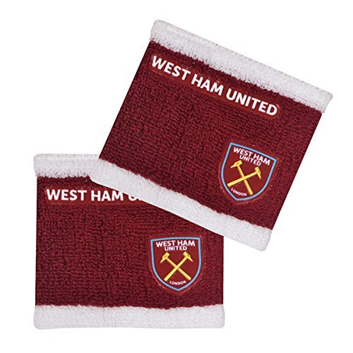 West Ham United F.C. Wristbands Official Merchandise by West Ham United F.C.