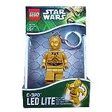 Lego Rocco Giocattoli Star Wars C3PO - Portachiavi con Luci