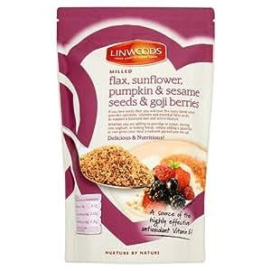 Linwoods Milled Flax, Sunflower, Pumpkin, Sesame Seeds and Goji Berries, 425g