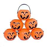 Recipienti Zucche per Regali di Halloween 12 Pezzi Dazzling Toys (D227)