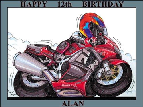 248-honda-fireblade-red-black-koolart-0248-personalised-10-x-75-icing-cake-topper-any-name-age-or-me