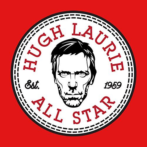 Hugh Laurie All Star Converse Logo Women's Hooded Sweatshirt red