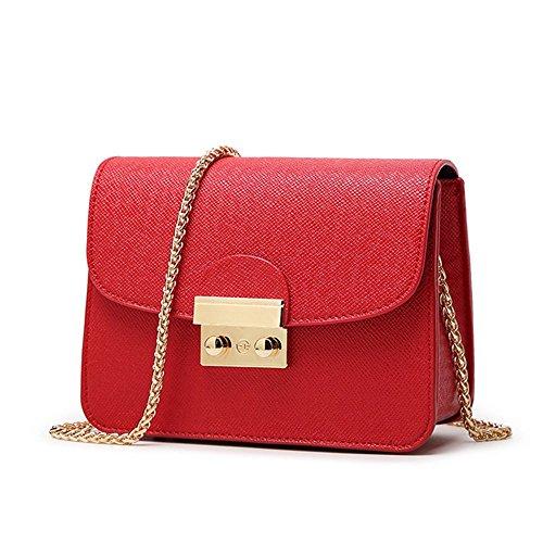 Eysee, Borsa a tracolla donna rosa Purple 18cm*14cm*8.5cm Red