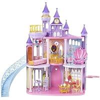 Mattel V9233 - Disney Princess Traumschloss, mit viel Zubehör