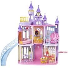 Mattel V9233 Princesas Disney - Castillo y accesorios