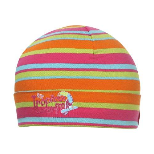 d-generation Mädchen Mütze Trikot-Topfmütze Rosa (Raspberry pink 2137) One Size (Herstellergröße: 57)