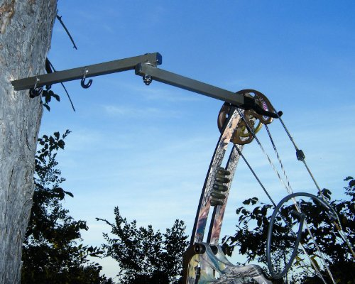 HME HME-FBH-3 Folding Bow Hanger, 3 pk