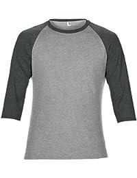 Anvil - T-shirt à manches 3/4 - Homme