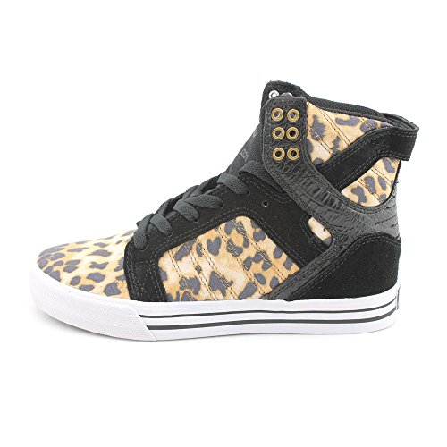 Supra  SKYTOP, baskets montantes homme Multicolore - Multicolore(marrón - Cheetah/Black-White)