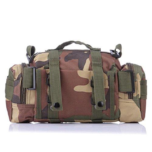 Z&N Backpack Camuffamento multifunzione ventilatori militari sport ricreativi borse tattiche telecamere a spalla zaini pacchetti di attacco operazioni tattiche sacchetti di zainiE10L A