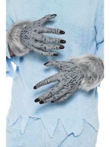 Smiffys Kostüm Zubehör Handschuhe Werwolf Monster Hände Halloween